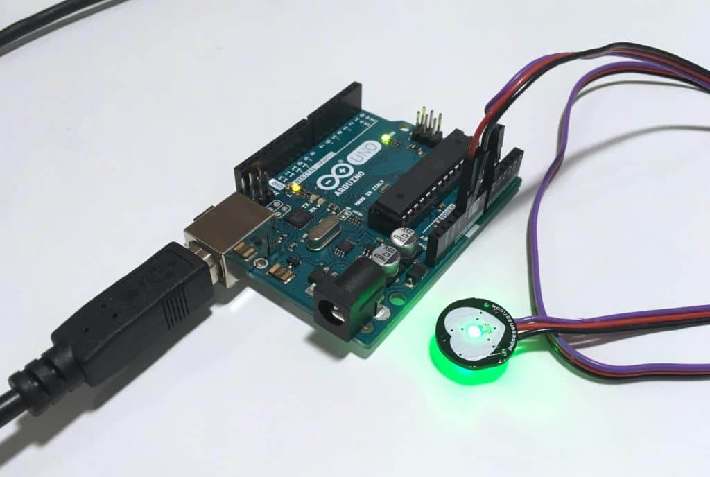 Arduino and Pulse sensor from pulsesensor.com