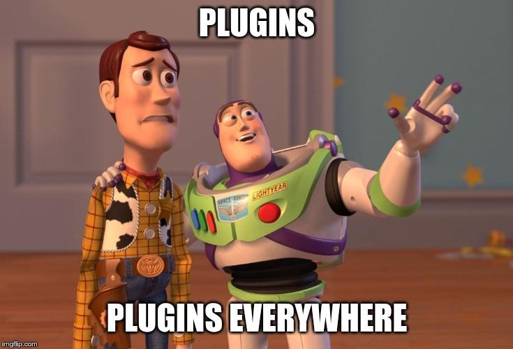 Plugins everywhere