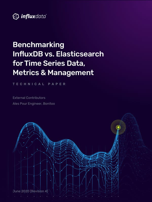 Benchmarking InfluxDB vs. Elasticsearch for Time Series