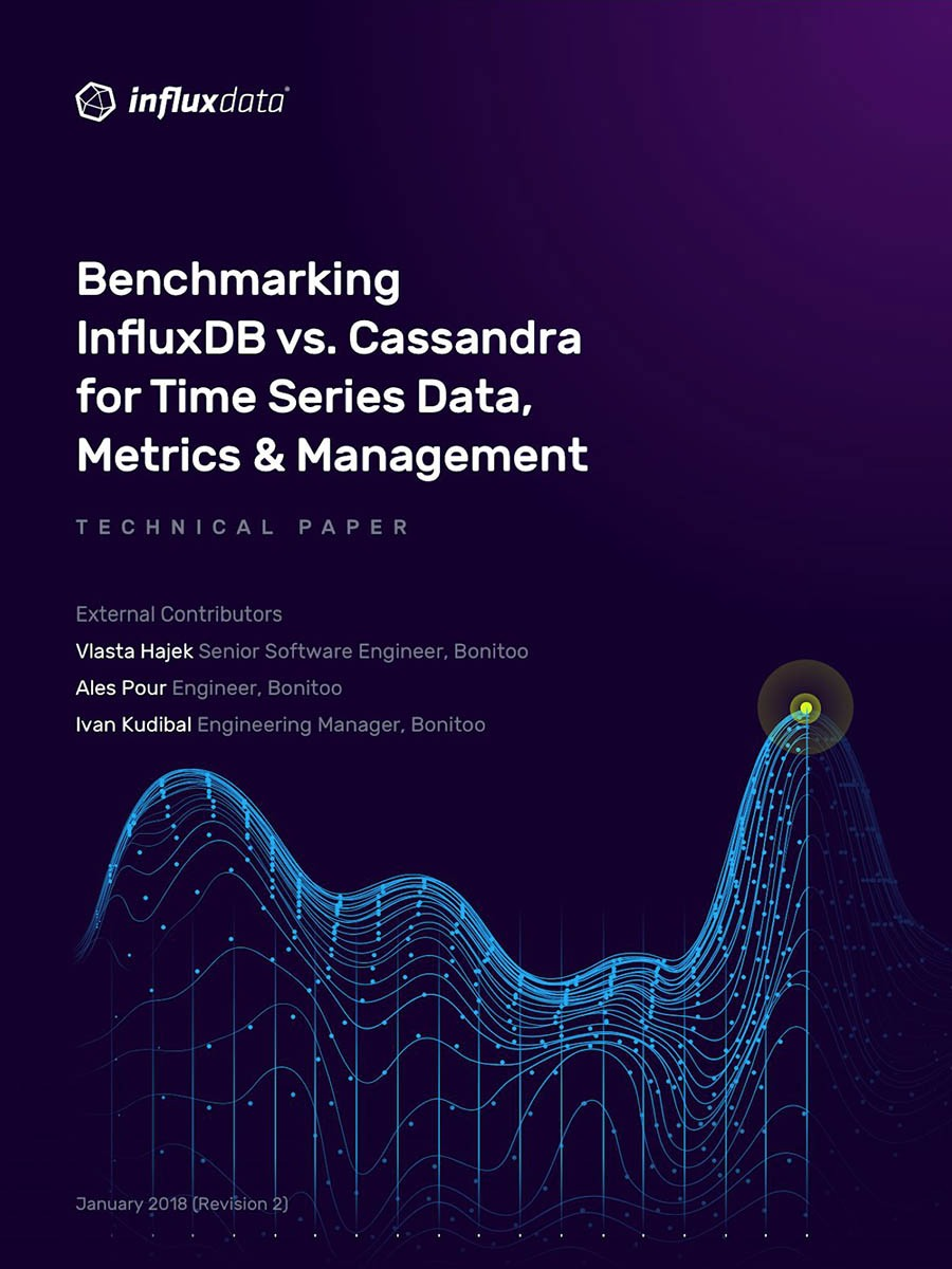 A faster way to transform metrics into action - InfluxDB outperforms Cassandra by 11x