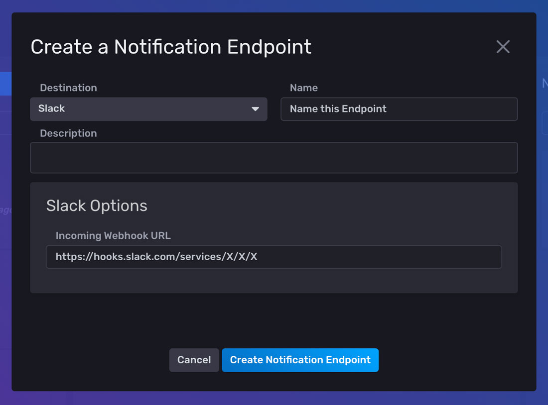 Create-a-notification-endpoint