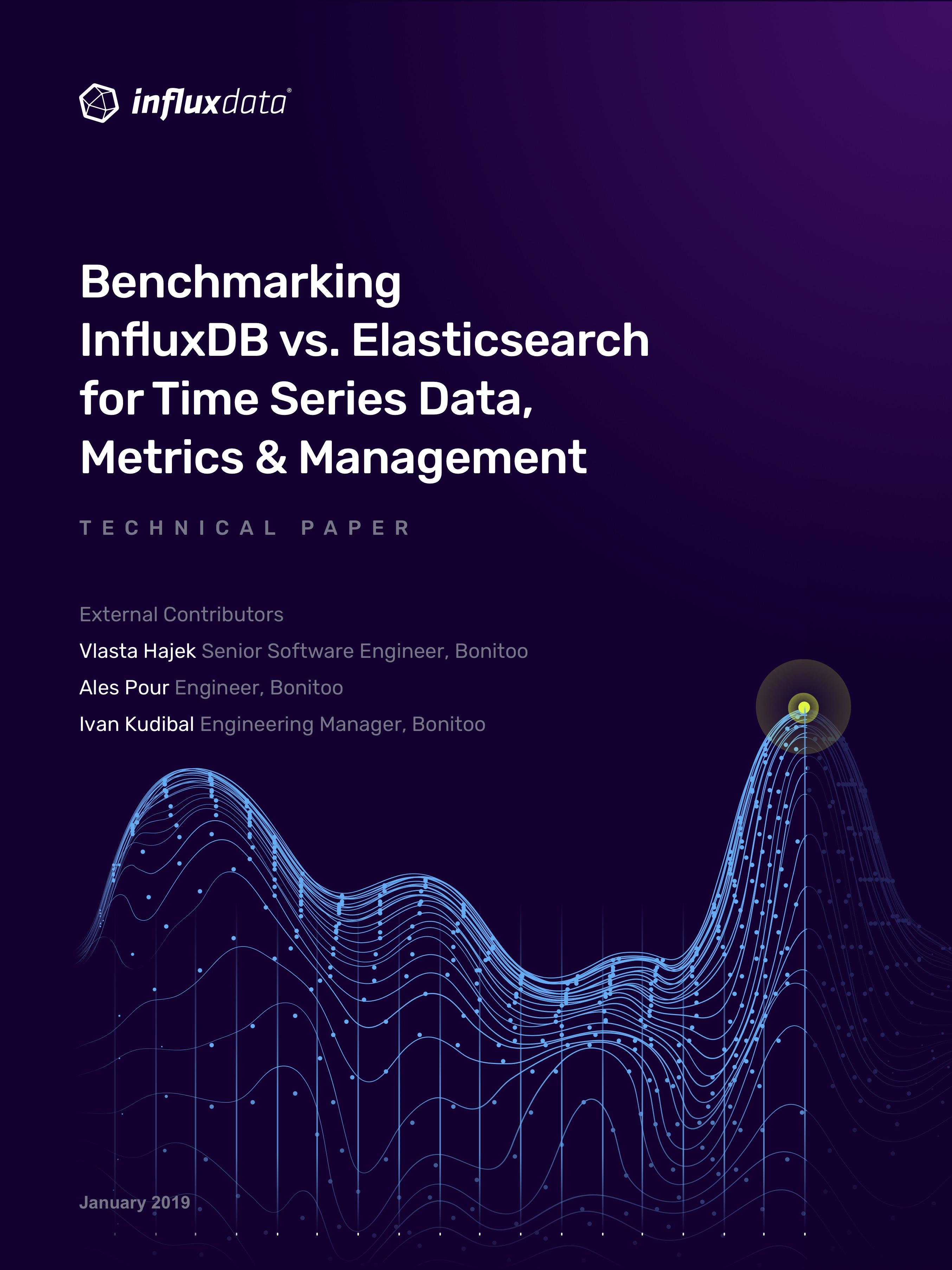InfluxDB vs Elasticsearch