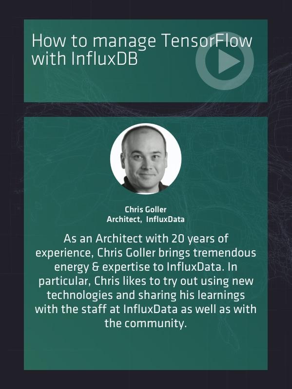 TensorFlow with InfluxDB