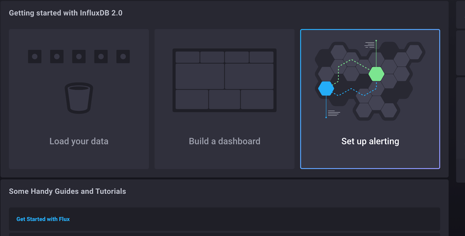InfluxDB 2.0 - Set up an alert
