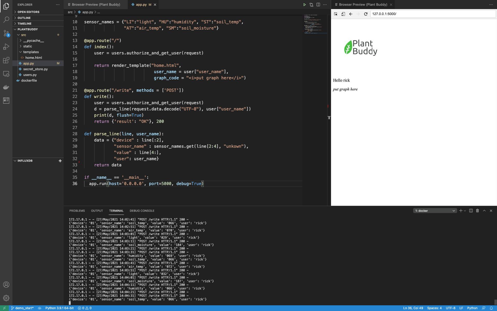 Plant Buddy-VSCode