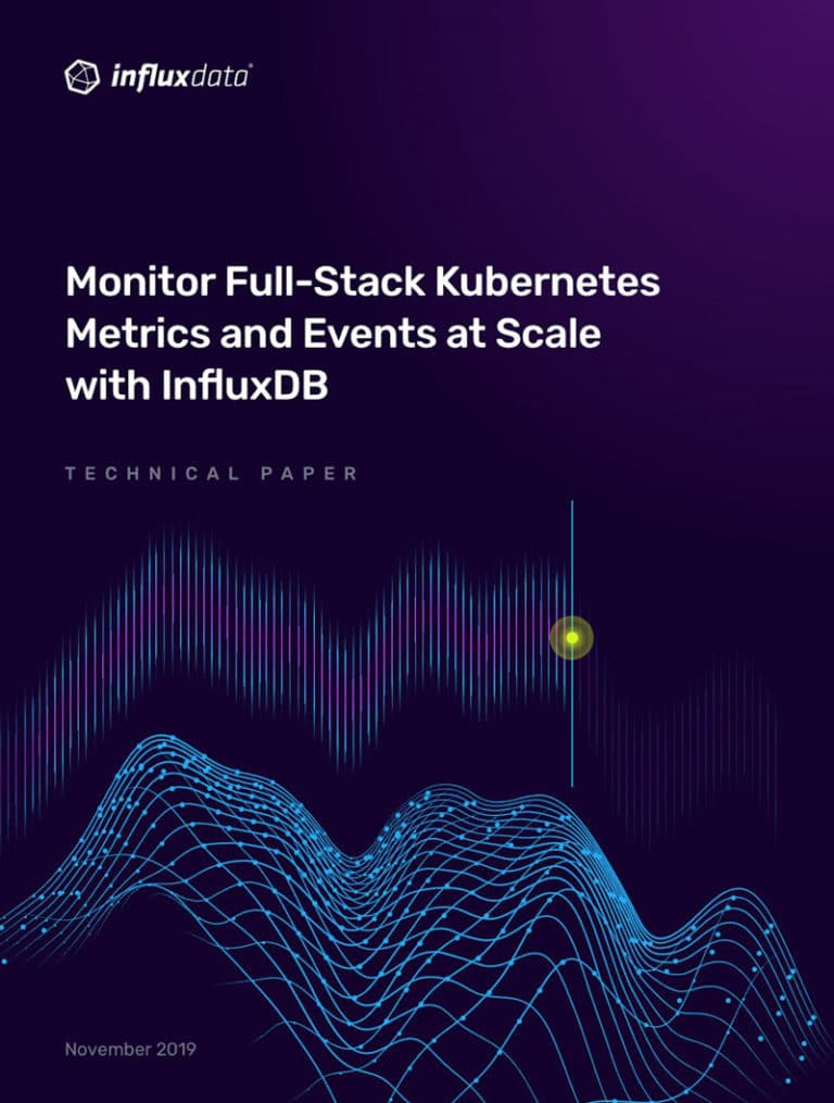 Techpaper InfluxData Kubernetes Monitoring Solution