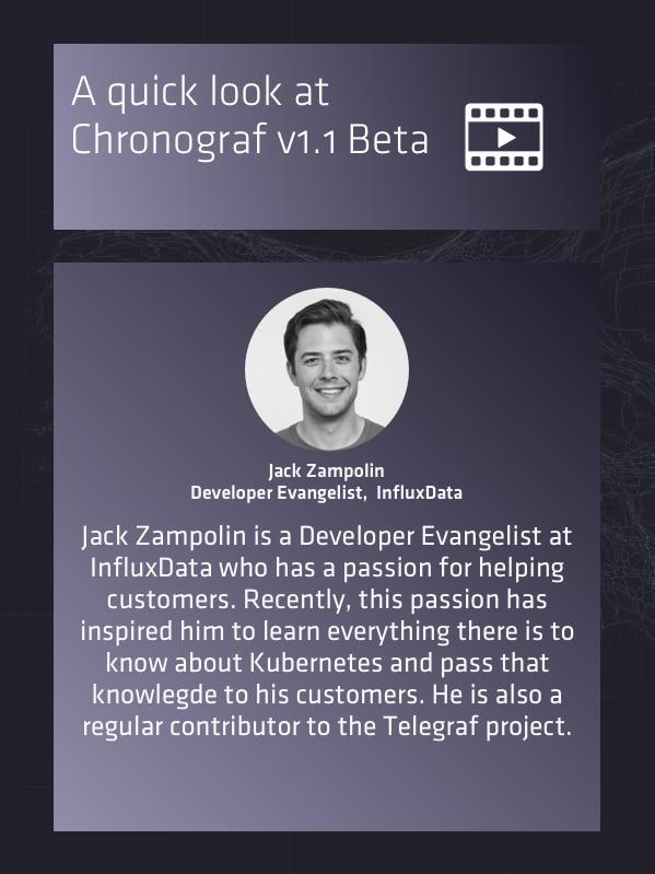 Chronograf v1.1 Beta