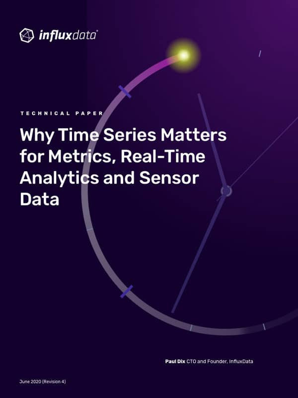 Why Time Series Matters