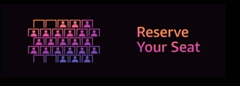 AWS ReInvent reserve seat