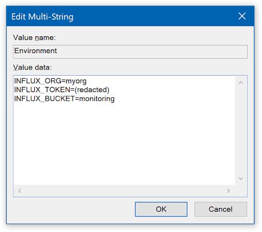 Edit multi-string screenshot