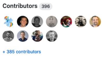 influxdb contributors