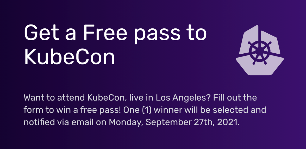 Join InfluxData at KubeCon - enter to win a free pass!