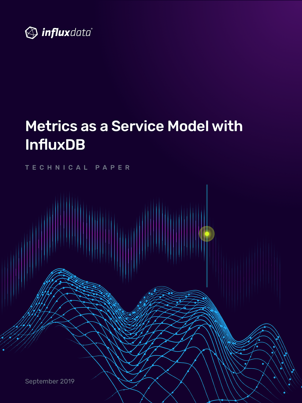 metrics as a service cover page