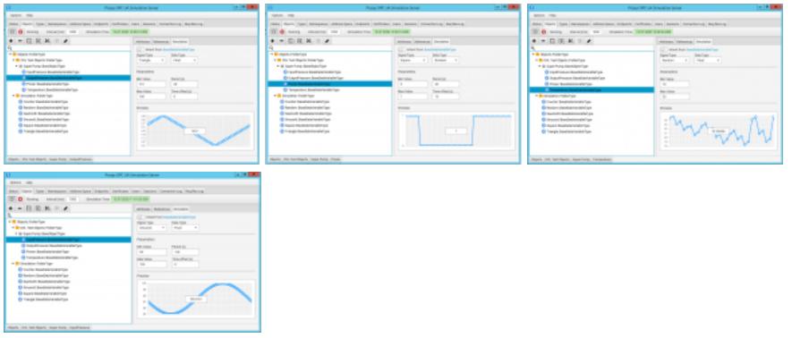 opc configuration settings