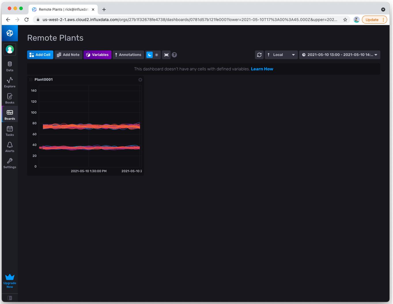 Plant Buddy - remote plant monitoring screenshot